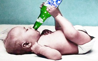 Baby-Drinking-Beer